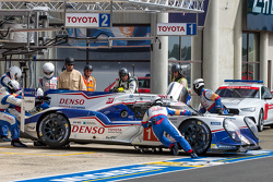 #1 Toyota Racing, Toyota TS040 Hybrid: Sébastien Buemi, Anthony Davidson, Kazuki Nakajima
