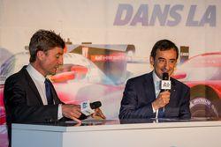 Bruno Vandestick y Pierre Fillon, presidente de la ACO