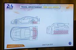 Parachoques aerodinámico trasero para Le Mans