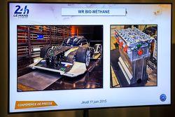 El auto biometano Welter Racing