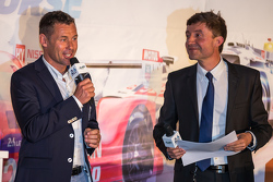 Grand Marshal Tom Kristensen and Bruno Vandestick