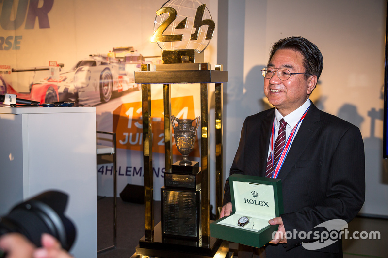Yoshiaki Kinoshita, vincitore del premio Spirit of Le Mans