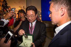 Yoshiaki Kinoshita, vainqueur du Spirit of Le Mans