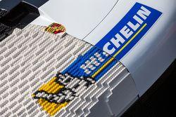 A Porsche 911 made from legos