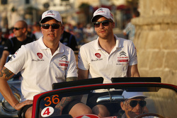Mads Ostberg en Jonas Andersson, Citroën DS3 WRC, Citroën World Rally Team