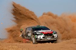 Мадс Остберг и Йонас Андерссон, Citroën DS3 WRC, Citroën Abu Dhabi World Rally Team