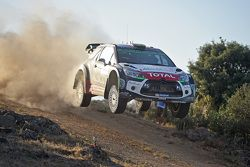 Крис Мик и Пол Нэгл, Citroën DS3 WRC, Citroën Abu Dhabi World Rally Team