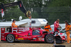 Problemas para o #13 Rebellion Racing Rebellion R-One: Dominik Kraihamer, Daniel Abt, Alexandre Impe