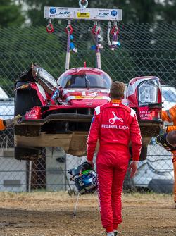 Probleme bei #13 Rebellion Racing, Rebellion R-One: Dominik Kraihamer, Daniel Abt, Alexandré Imperatori