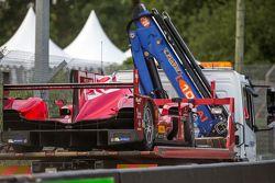 Problemas para o #13 Rebellion Racing Rebellion R-One: Dominik Kraihamer, Daniel Abt, Alexandre Impe