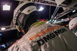 Pit crew do Team Porsche