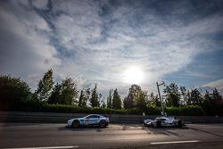 #96 Aston Martin Racing Aston Martin Vantage GTE: Francesco Castellacci, Roald Goethe, Stuart Hall, #7 Audi Sport Team Joest Audi R18 e-tron quattro: Marcel Fässler, Andre Lotterer, Benoit Tréluyer