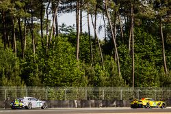 #63 Corvette Racing Corvette C7.R: Jan Magnussen, Antonio Garcia, Ryan Briscoe abd #97 Aston Martin Racing Aston Martin Vantage GTE: Darren Turner, Stefan Mücke, Rob Bell
