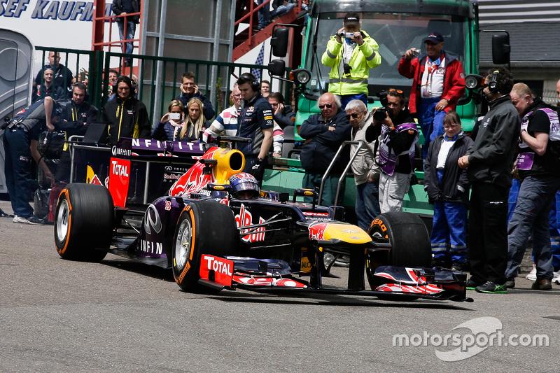 Infiniti Red Bull Racing F1 şovu