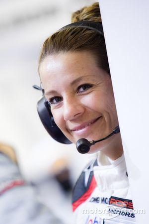Un encantador miembro del Porsche Team