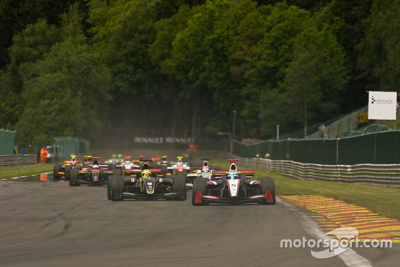 1. Runde; #5 Nicholas Latifi, Arden Motorsport