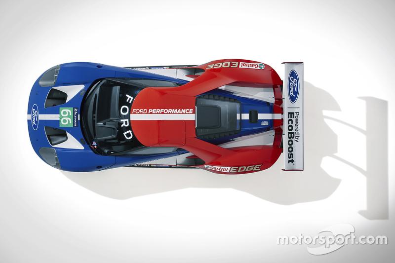 El nuevo Ford GT que correrá en Le Mans