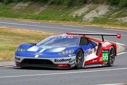 The new Ford GT that will race at Le Mans