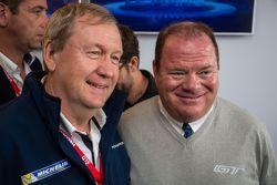 Pascal Couasnon, Director de MICHELIN Motorsport con Chip Ganassi