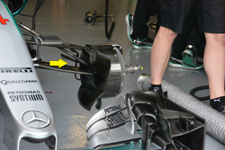 Mercedes AMG F1 W06 detalle