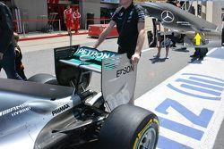 Mercedes AMG F1 W06 detalhe