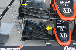 McLaren MP4-30 detalle