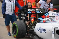 Williams FW37 detalle