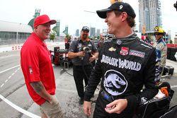 Paul Tracy and Scott Dixon, Chip Ganassi Racing Chevrolet