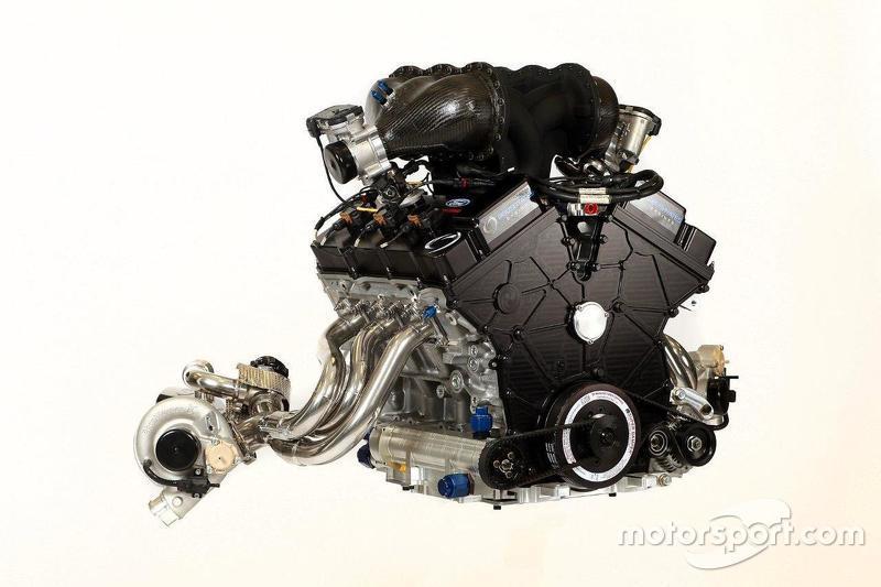 Roush Yates de 3.5 litros EcoBoost de Ford doble turbo V6