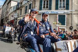 #98 Aston Martin Racing Aston Martin Vantage GTE: Mathias Lauda and Pedro Lamy
