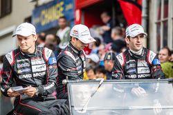 #18 Porsche Team Porsche 919 Hybrid: Marc Lieb, Neel Jani y Romain Dumas