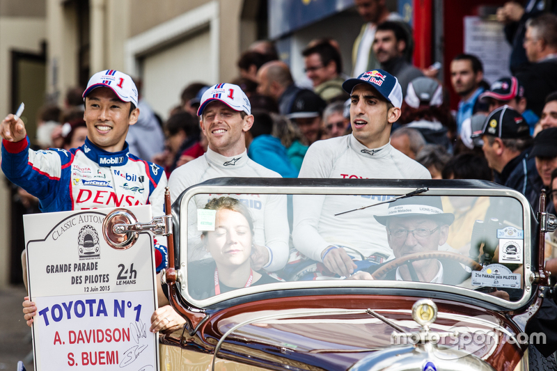#1 Toyota Racing, Toyota TS040 Hybrid: Kazuki Nakajima, Anthony Davidson und Sébastien Buemi