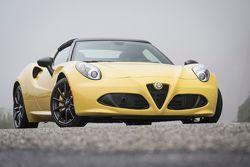 The 2015 Alfa Romeo 4C Spider