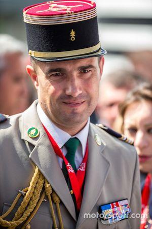 Militar francés teniente coronel