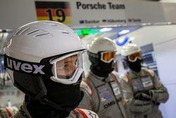 Equipo de mecánicos de Porsche
