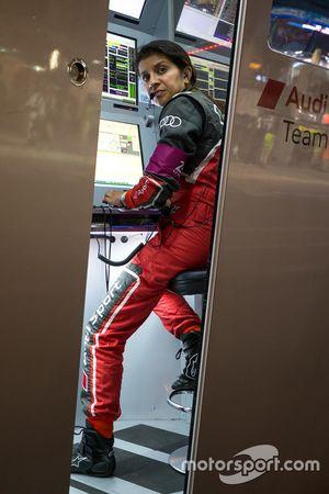 Leena Gade, engenheira-chefe do #7 Audi Sport Team Joest