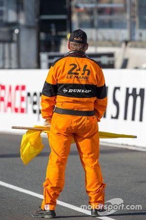 Le Mans marshals
