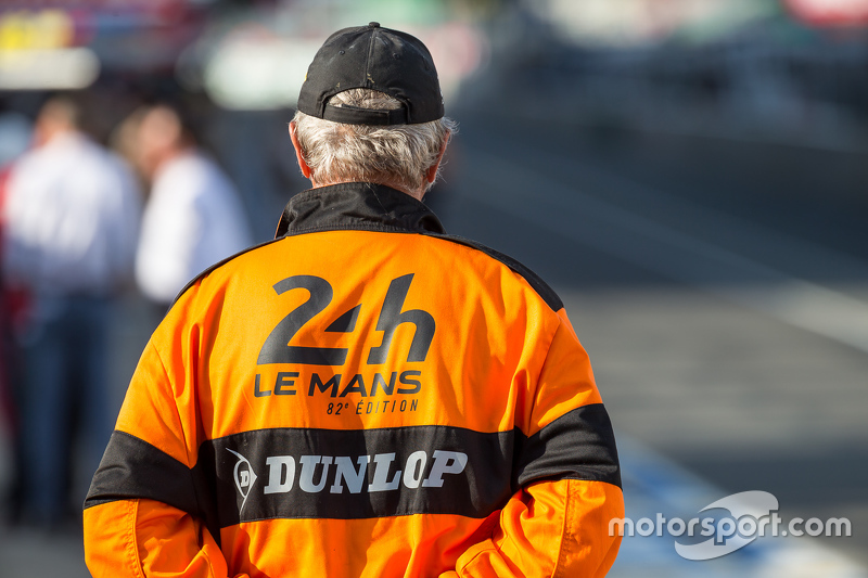 Marshal at Le Mans 24 Hours