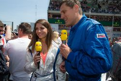 RTL presenter and race car driver Cyndie Allemann
