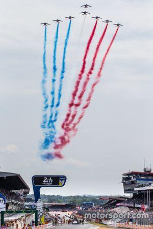 Patrouile de France, Überflug
