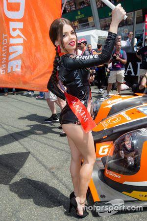 Una chica del G-Drive Racing