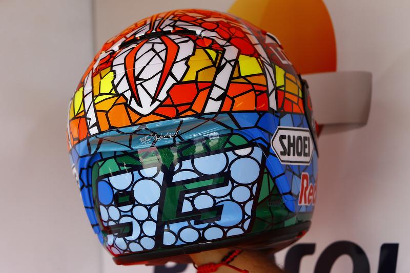 'Gaudi Mosaic' Marc Marquez, Repsol Honda Team, helmet