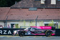 Снос машины #34 OAK Racing Ligier JS P2: Крис Камминг, Кевин Эстре, Лоренс Вантхор