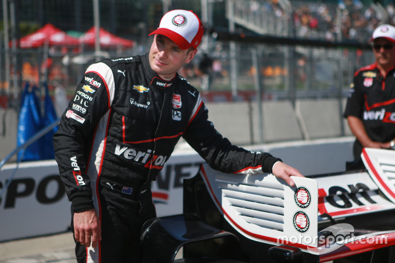 Pole-Sitter: Will Power, Team Penske, Chevrolet