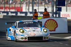 #68 Team AAI Porsche 911 GT3-RSR: Han-Chen Chen, Gilles Vannelet, Mike Parisy