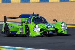#40 Krohn Racing Ligier JS P2: Tracy Krohn, Nic Jonsson, Joao Barbosa