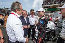 Jack Ickx und Porsche: Romain Dumas