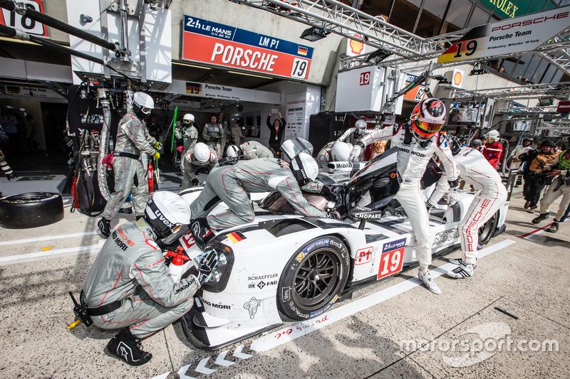 Hülkenberg op Le Mans