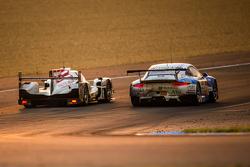 #12 Rebellion Racing Rebellion R-One: Николя Прост, Ник Хайфельд, Матиас Беш и #68 Team AAI Porsche