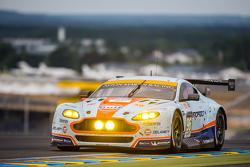 #96 Aston Martin Racing Aston Martin Vantage GTE : Francesco Castellacci, Roald Goethe, Stuart Hall